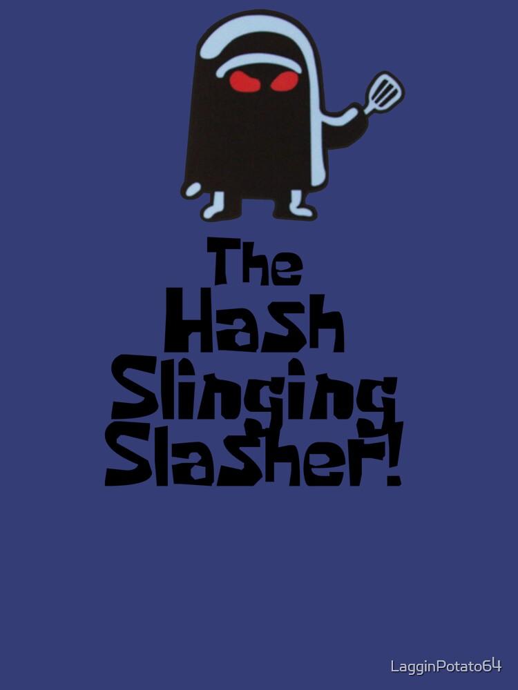 The Hash Slinging Slasher! (Black Text) - Spongebob by LagginPotato64