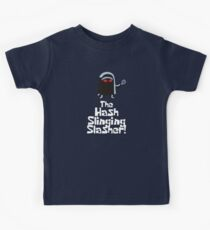 The Hash Slinging Slasher! (White Text) - Spongebob Kids Clothes
