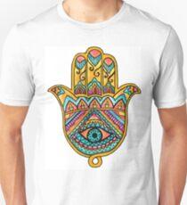 Rainbow Hamsa Hand T-Shirt