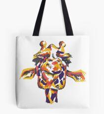 Color Block Giraffe Tote Bag
