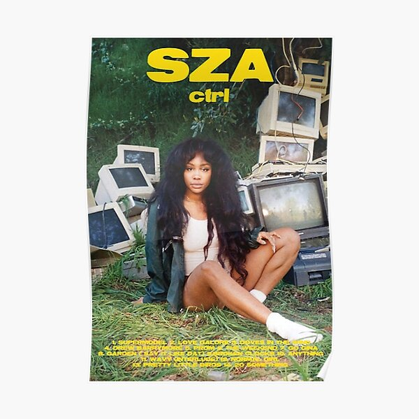 ctrl SZA album music poster Poster