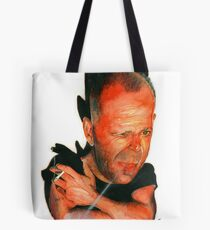 Bruce Willis Tote Bag
