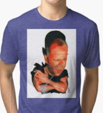 Bruce Willis Tri-blend T-Shirt