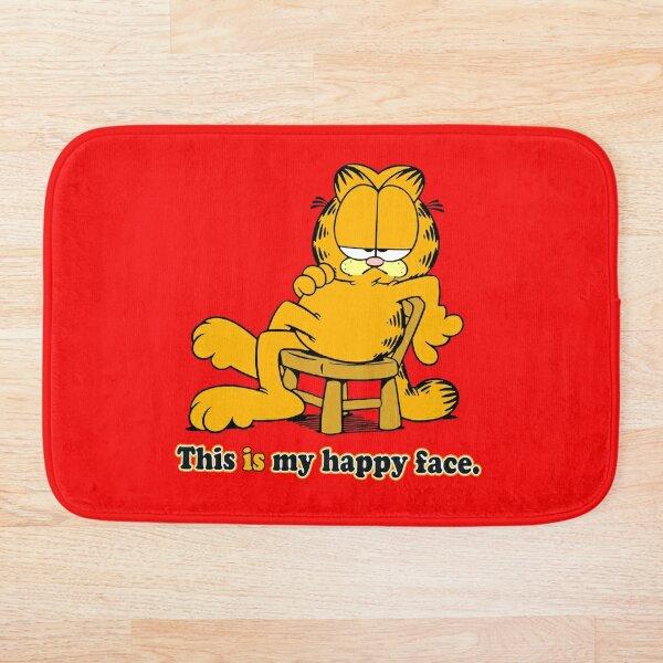 Garfield Happy Face Bath Mat