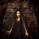 veiled girl by annacuypers