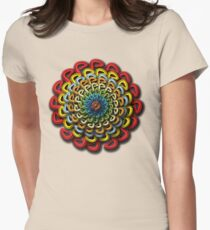mandala 4 Womens Fitted T-Shirt
