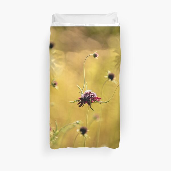 Golden Meadow Duvet Cover