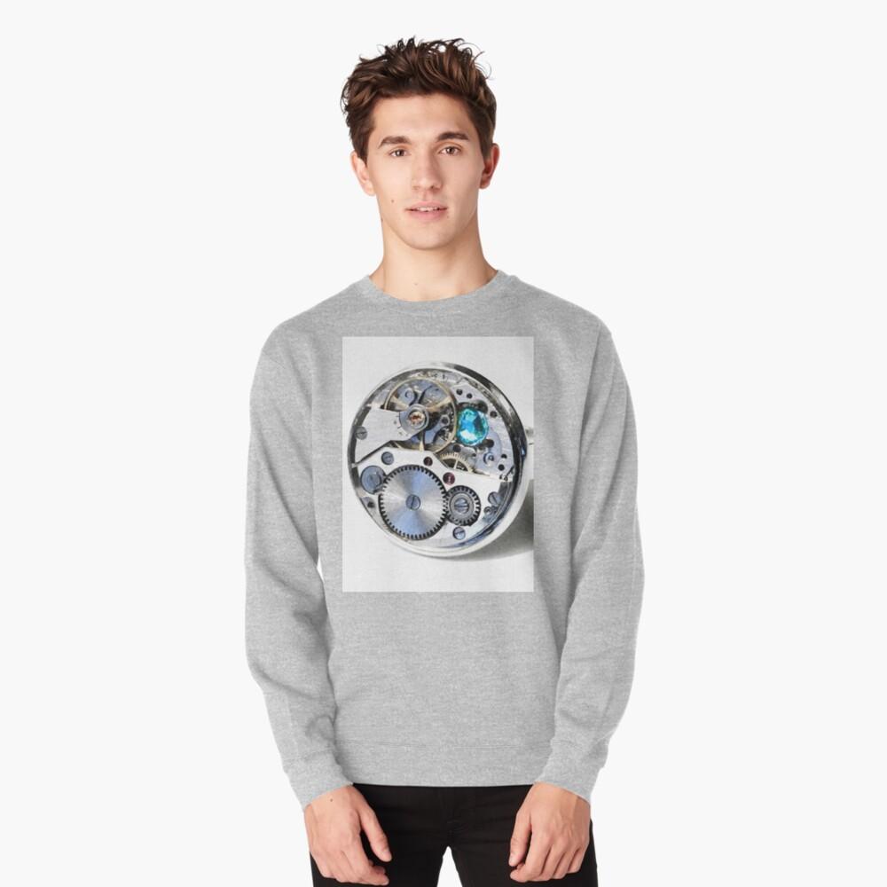Clock: CyberPunk, Steampunk, Technopunk Pullover Sweatshirt