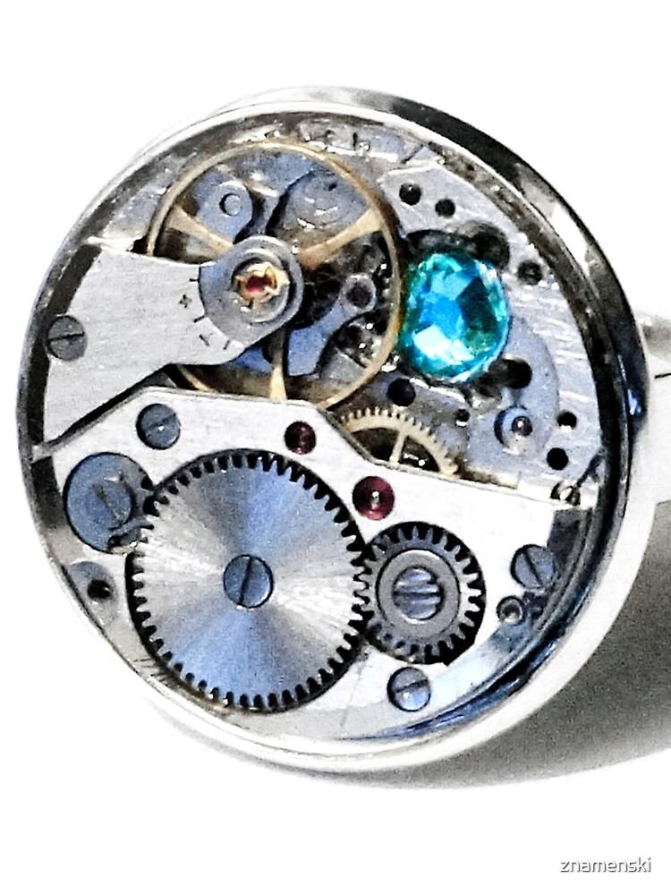 Clock: CyberPunk, Steampunk, Technopunk by znamenski