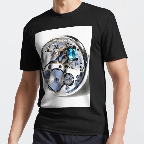 Clock: CyberPunk, Steampunk, Technopunk Active T-Shirt