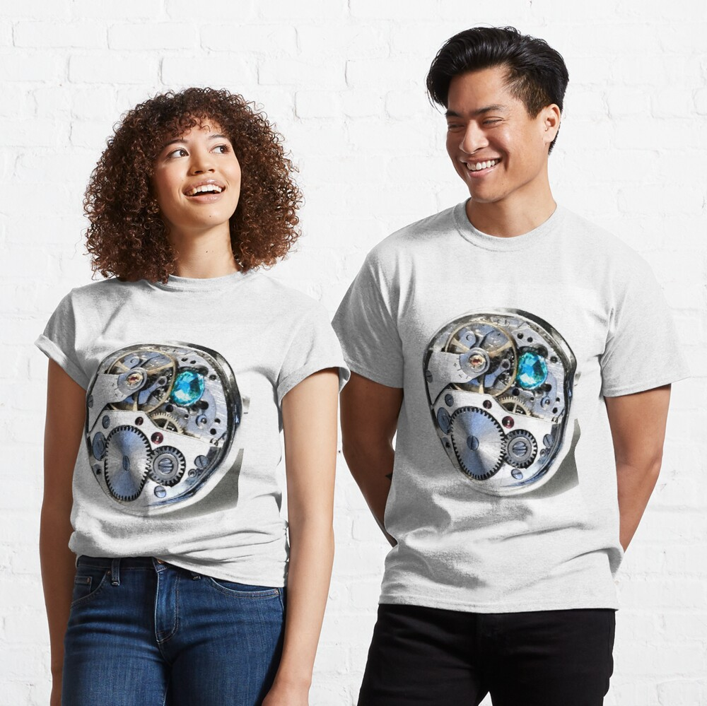 Clock: CyberPunk, Steampunk, Technopunk Classic T-Shirt