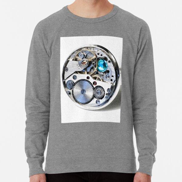 Clock: CyberPunk, Steampunk, Technopunk Lightweight Sweatshirt