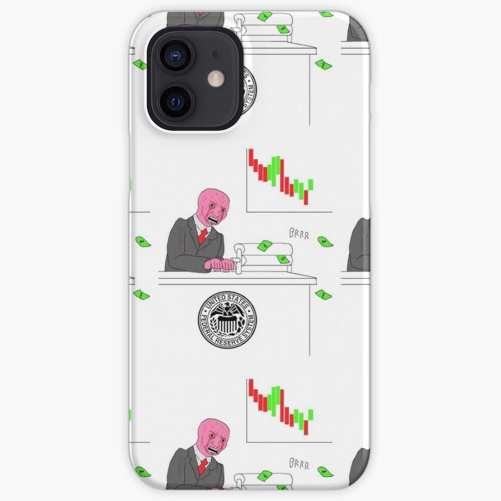 Money printer go BRRR iPhone Case & Cover