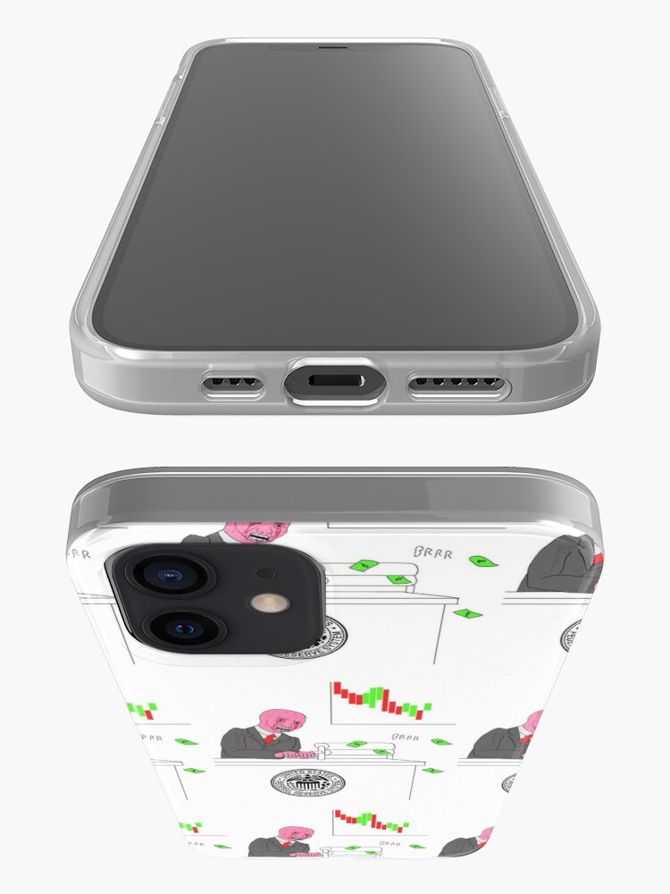 Alternate view of Money printer go BRRR iPhone Case & Cover
