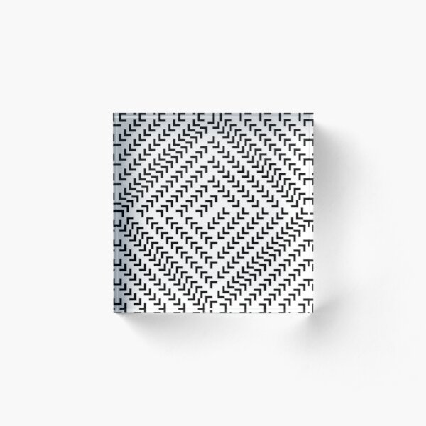 #Parallel #Geometry #Pattern #Art Decoration Ornate Tapestry Colorfulness Acrylic Block