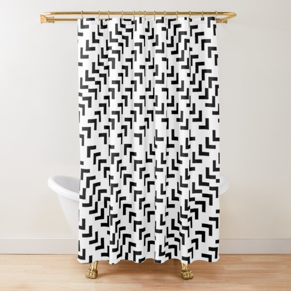 #Parallel #Geometry #Pattern #Art Decoration Ornate Tapestry Colorfulness Shower Curtain