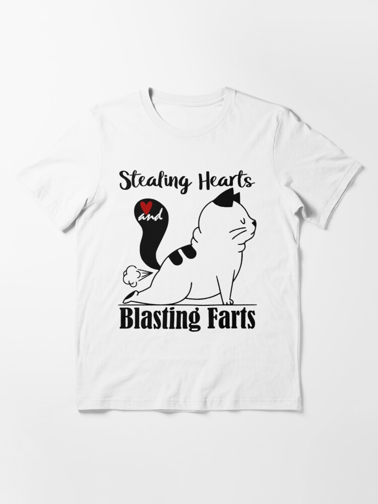 Alternate view of Stealing Hearts and Blasting farts Essential T-Shirt
