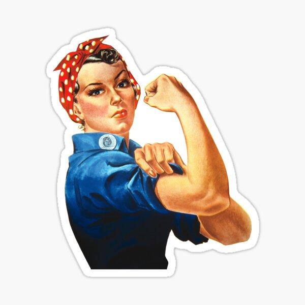 We Can Do It Woman War Sticker Sticker