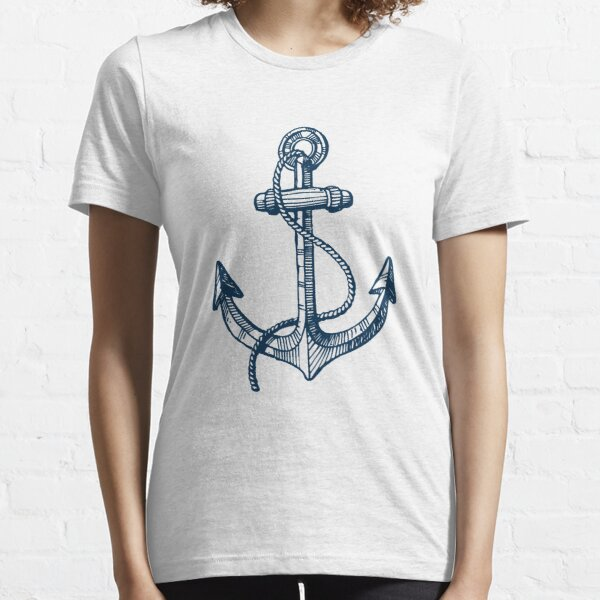 Anchor and steering wheel Essential T-Shirt
