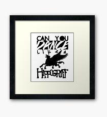 DANCE LIKE A HIPPOGRIFF Framed Print