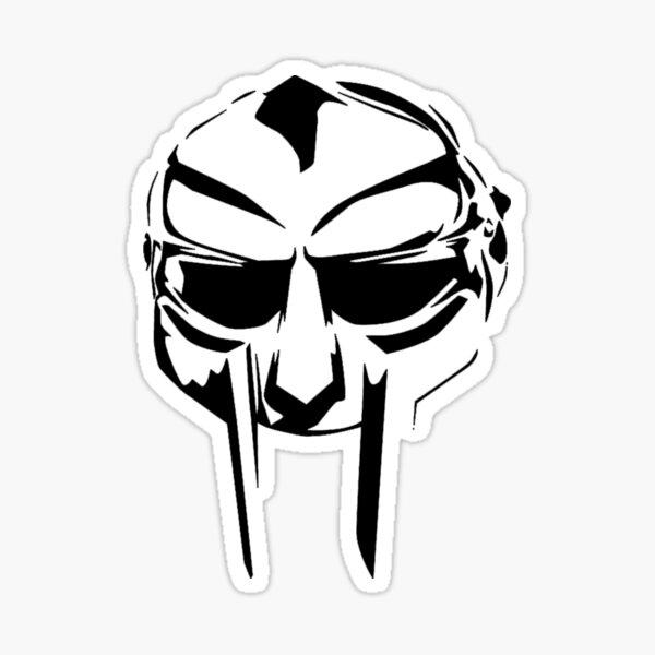 a masked man called doom Sticker