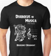 Diabolus in Musica (The Devil in Music -- The Tritone) Slim Fit T-Shirt