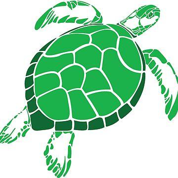 Sea Turtle by weirdotwin