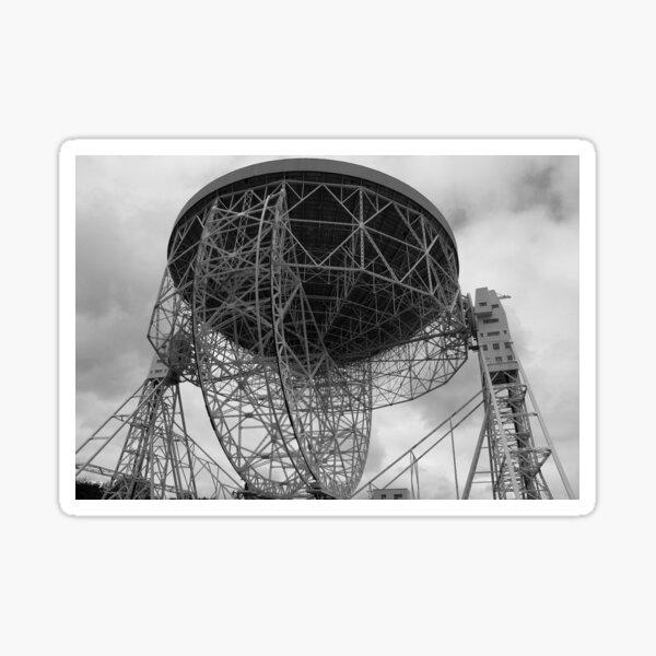 Lovell Telescope at Jodrell Bank Sticker