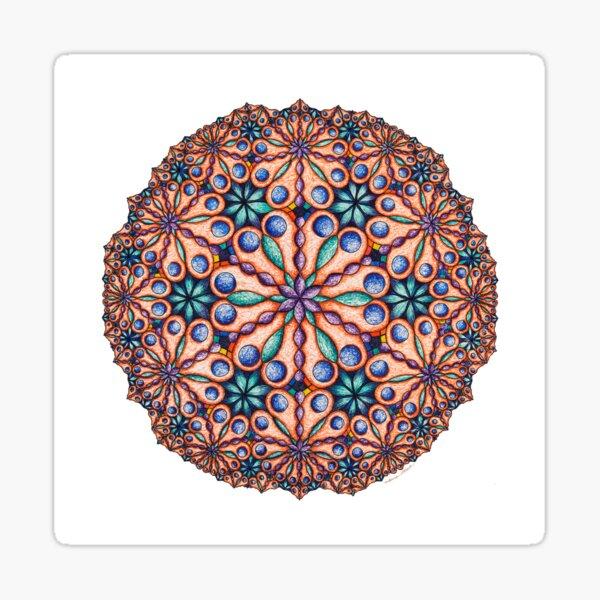 Garden Delight Mandala Sticker