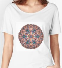 Garden Delight Mandala Women's Relaxed Fit T-Shirt