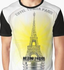 eiffel tower Paris  Graphic T-Shirt