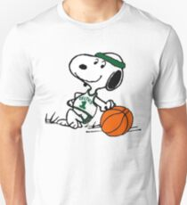 Snoopy basketball Unisex T-Shirt