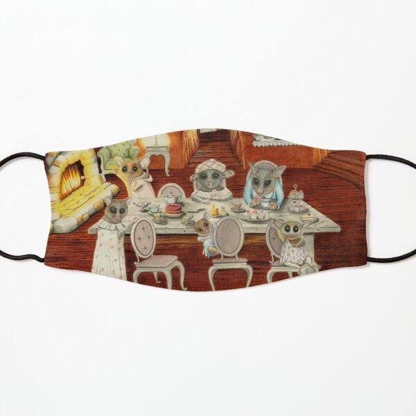 POPPY THE PYGMY POSSUM - Tea Party - Watercolour Illustration Kids Mask