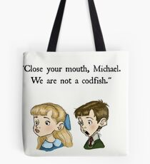 We Are Not A Codfish Tote Bag