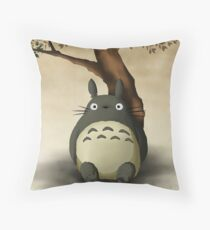 My Neighbor Totoro Studio Ghibli Throw Pillow