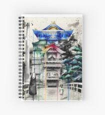 Spirited Away Spiral Notebook