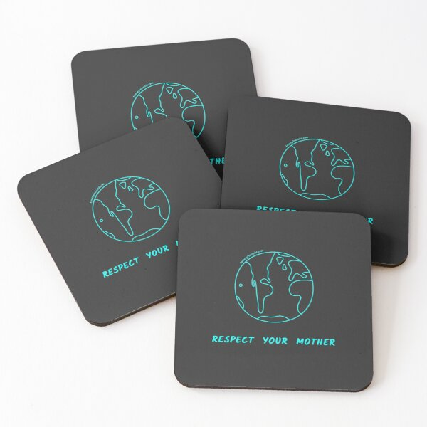 Respect Your Mother | Twenty Four Wild Coasters (Set of 4)
