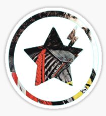 Danger Days Jet Star Sticker