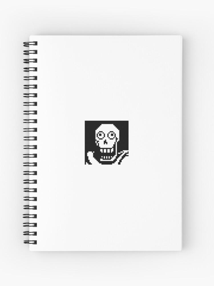 Undertale Meme Spiral Notebook By Pophlo Redbubble