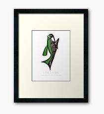 Goby Fish Anatomy Framed Print