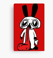 Tongue Rabbit! Canvas Print