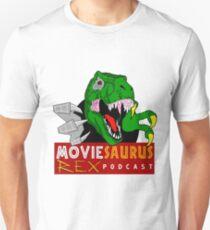 The Moviesaurus Rex Podcast Logo Unisex T-Shirt