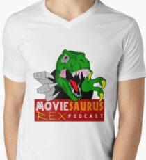 The Moviesaurus Rex Podcast Logo T-Shirt