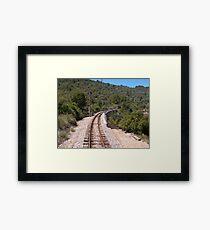 Eisenbahn Gerahmtes Wandbild