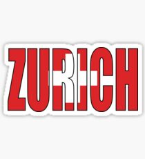 Zurich. Sticker