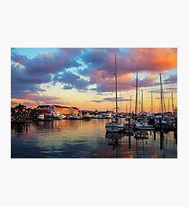 Newports Dusk Photographic Print