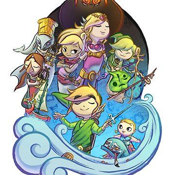 Legend of Zelda by katarsi