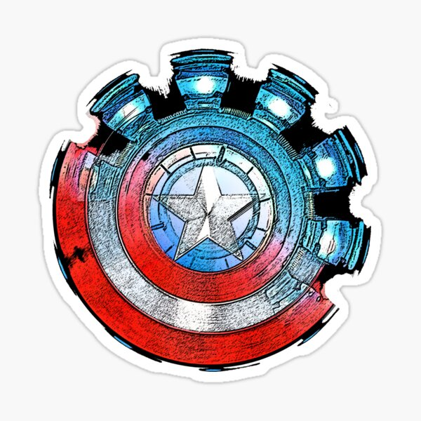 Civil War Sticker