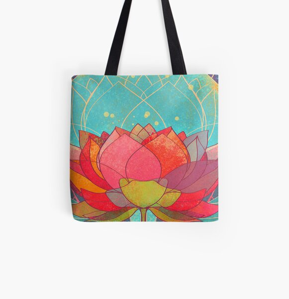 space lotos All Over Print Tote Bag