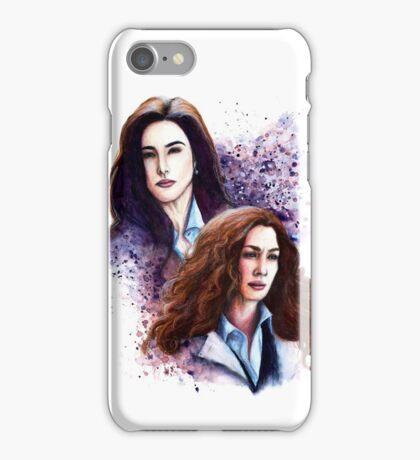 Agents Bering & Wells iPhone Case/Skin